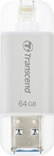 Transcend TS64GJDG300S Pen drive 64 GB Chiavetta USB 3.0 Lightning JetDrive Go