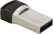 Transcend TS64GJF890S Pen drive 64 GB Chiavetta USB 3.1 NeroGrigio 89064GB