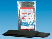 Tre Emme Filtri per cappa in fibra di poliestere polvere di carbone 50x100 7004