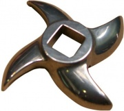 Tre Spade 11021IR Coltello Tritacarne N.12 Lama in Acciaio Inox 3 Spade