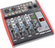Tronios Mixer Dj 4 Canali Console Dj USB Mp3 Jack 6.3 mm PDM-L405 Power Dynamics