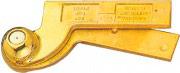 TROPEX DESIGN 45110059 Cardine Porta Superiore Ambidestro in ottone lucido
