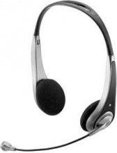 Trust Cuffia stereo per PC con microfono col. Nero Argento 15481 A Insonic