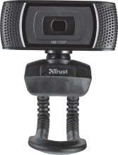 Trust WebCam HD Microfono Web Cam 8 Mpx Fotocamera col Nero Trino HD 18679