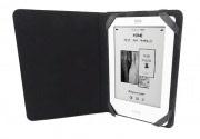 """Trust Custodia Cover a libro per eBook Universale fino a 6"""" colore Nero 19756"""
