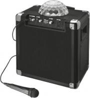 Trust 21405 Cassa Bluetooth Portatile USB Karaoke Microfono Nero  Fiesta Disco