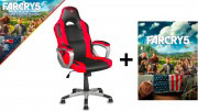 Trust Poltrona Gaming Chair Altezza Regolabile + Fair Cry 5 22785 GXT 705 Ryon
