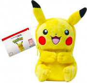 Twodots Cover Custodia per Nintendo NEW 3DS XL 3DS-509U Pikachu Plush Pouch