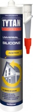 Tytan 17607  RAL8007 Silicone Acetico Universale Ml. 280 Marrone 17607 RAL8007