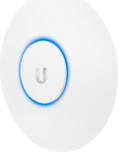 UBIQUITI Access Point Wifi Wireless PoE 1000 Mbits murosoffitto UAP-AC-LITE