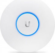 UBIQUITI UAP-AC-LR Access Point Wifi Wireless Mmo 3x3 montaggio murosoffitto