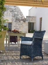 UNOPIU CPCUPO001 Cuscino poltrona giardino Modello Capri Diamante