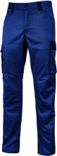 U-Power HY141WB XL Pantalone da lavoro CotonePoliestere Multitasche Tg. XL Blu HY141WB