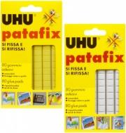 Uhu D1620 Confezione n° 80 Gommini Adesivi Patafix D1573
