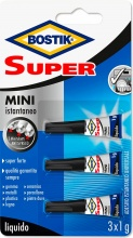 Uhu D2747 Bostik Super Mini 3x1 Pezzi 10