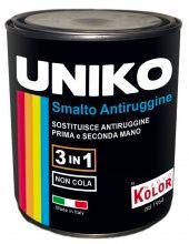 Uniko Smalto Antiruggine Confezione da ml 750 col Grafite G907