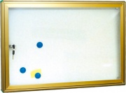 Utilia NB-45X60 Bacheca espositore magnetica con serratura 60x45x4 cm