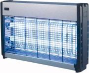 Globex SNAP 20 Lampada Zanzariera Elettrica ammazza zanzare insetti mosche 10W x2
