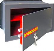 Utilia Security Cassaforte Muro Incasso Meccanica Chiave mm 260x155x180 SM-1