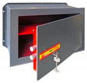 Utilia Security Cassaforte Muro Incasso Meccanica Chiave mm 360x200x230 SM-4