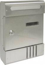 Utilia TX0020-6-1 ARM Cassetta Postale Acciaio con cilindro mm. 205x65x290 h All. - Vienna