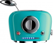 VICEVERSA 10053 Tostapane elettrico 2 Fette 500W 9 Livelli Cottura con Timer  Tix