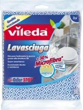 VILEDA 141299 Panno Multiuso Lavasciuga Pz.3 cm 36x34