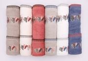 VINGI AD0809 Set Asciugamani Bagno 6+6 in Spugna di Cotone colore Assortiti - Leila
