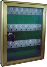 VULCANIA 2500PO24 Cassetta Portachiavi 24 P Alluminio 29x4x37