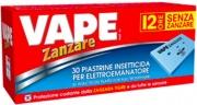 Vape 2019649 Piastrine Elettroemanatori Pz.30