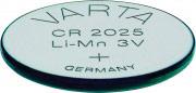Varta 6025101401 Batteria Bottone CR2025 3 Volt confezione 1 pz