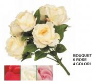 Vea A38582 Bouquet Rosa x6 4 Colori Assortiti