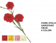 Vea A50533 Fiore Stelo Garofano cm 86 4 Assortiti