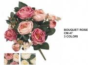 Vea A55370 Bouquet Rose x12 cm 47 3 Assortiti