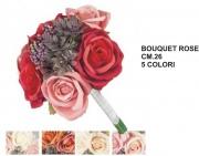 Vea A55529 Bouquet Rose cm 26 5 Assortiti