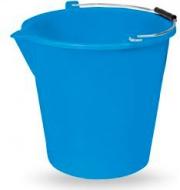 Veca SH003L0100BBL Secchio con becco 10 lt Polietilene blu cm 31xh29