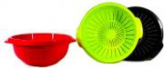 Veca SP001D00320 Scolapasta 32 cm Plastica Colori Assortiti