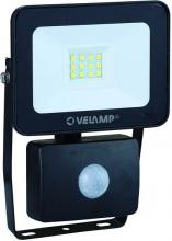 Velamp IS748-3 Proiettore Led W20 Fisso Alluminio Sensore