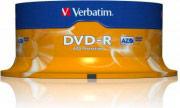 Verbatim 43522 Confezione n°25 DVD-R 16x 4,7 Gb