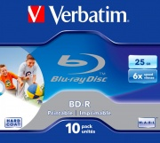 Verbatim 4371310 Campana 10 Blu Ray BD-R 25 GB 43713