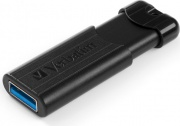 Verbatim 49316 Pen Drive 16 GB Chiavetta USB 3.2 USB-A Gancio Nero  PinStripe