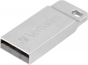 Verbatim 98749 Pen Drive 32 GB Chiavetta USB 2.0 USB-A Argento  Metal Executive