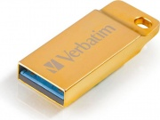 Verbatim 99106 Pen Drive 64 Gb Chiavetta USB 3.0 High Speed Oro  Metal Executive