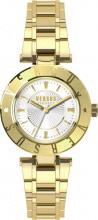 Versace Orologio Donna Analogico cassa e Cinturino Acciaio Oro SP8200015