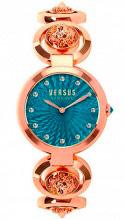 Versus by Versace S75060017 Orologio Donna Analogico al Quarzo Acciaio Oro Rosa
