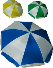 Vette 6300 Ombrellone Acciaio Telo in Poliestere colore Bianco Blu 240