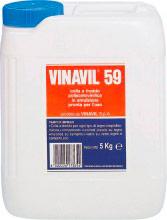 Vinavil 59 Colla Vinilica per legno e Materiali Plastici confezione da 5 kg