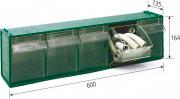 Vipa FOX 103 Porta Minuteria 5 Scomparti basculanti
