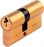 Viro Cilindro Serratura sicurezza da infilare 60 mm Nottolino 0° 3 Chiavi 09202