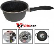 Vitrinor 080118 Casseruola 1 Manico cm 16 Acciaio Vetrificato per Induzione